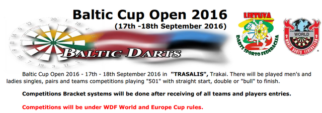 Baltic Cup Open 2016